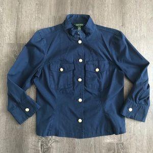 Ralph Lauren Navy Utility / Military Jacket 10